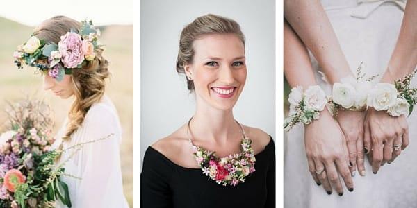 accessori floreali per cerimonia nuziale in primavera