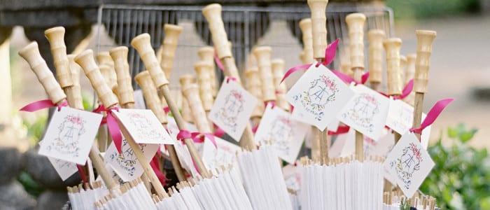 ombrelli parasole cerimonia nuziale