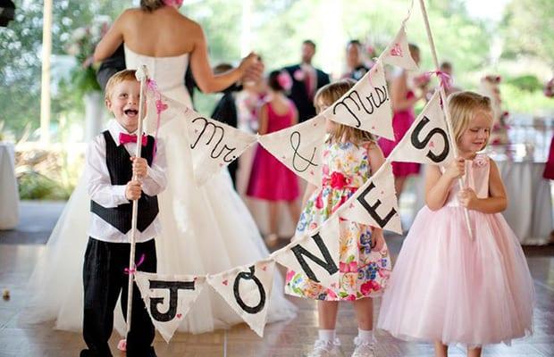 coinvolgere bambini cerimonia