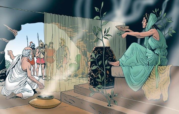 La Pizia disegnata da Angelo Todaro