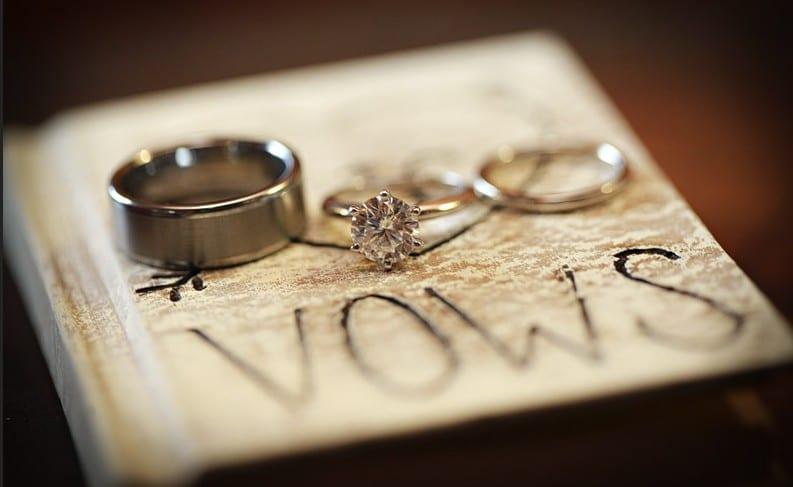 come scrivere le promesse nuziali