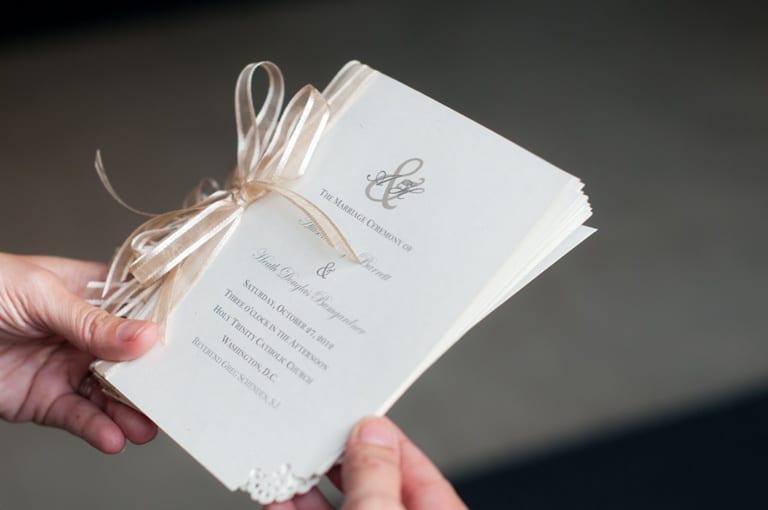 Idee per i libretti cerimonia – Ideas for the wedding ceremony booklets