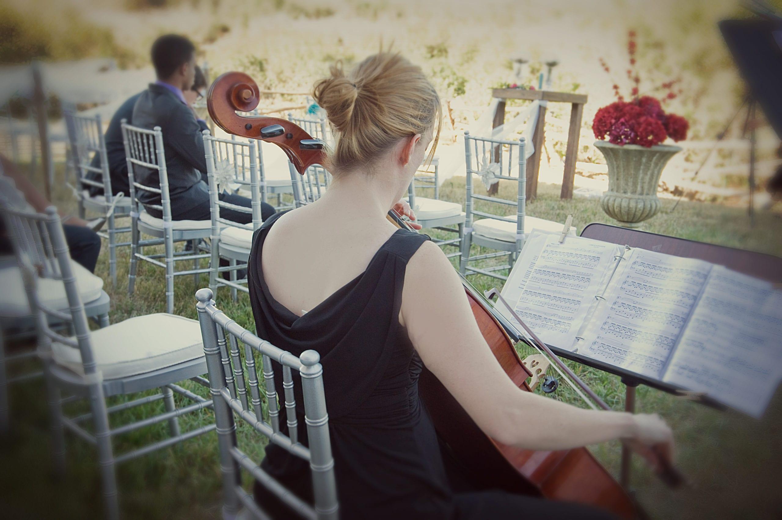 musica ingresso sposa violoncello