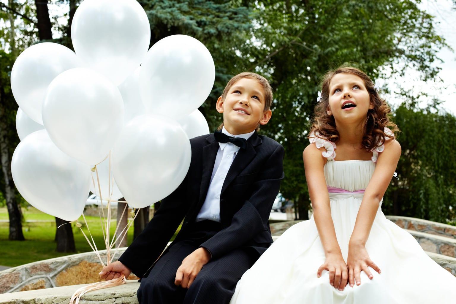 coinvolgere i bambini nella cerimonia
