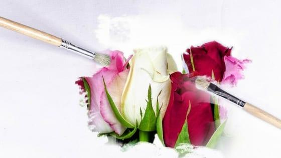 fake wedding bouquet