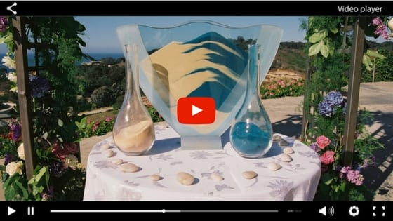Matrimonio Simbolico Chi Lo Celebra : Come fare il rito della sabbia durante la tua cerimonia