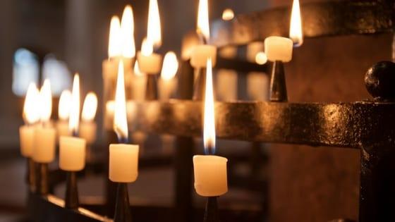 candele cerimonia