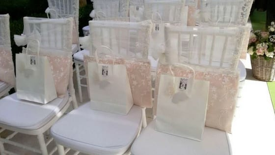 wedding bag per il rito civile