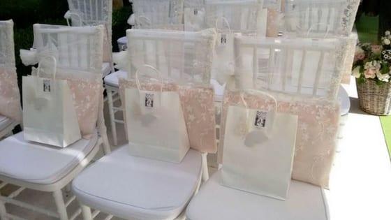 wedding bag per il rito civile