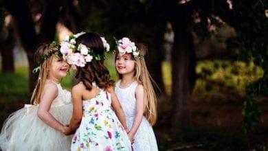 Cerimonia nuziale con bambini