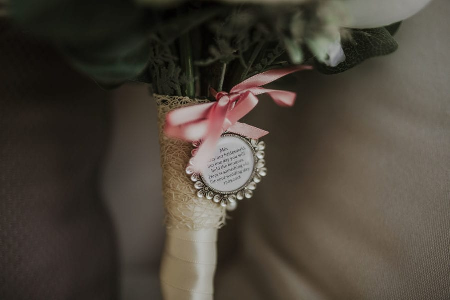 matrimonio civile tra lecce e brindisi: un dettaglio del bouquet