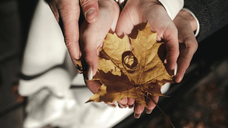 Cerimonia in autunno, non cambia solo l'allestimento